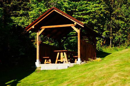 Domki u Danki - ogród (kliknięcie spowoduje powiększenie obrazu)