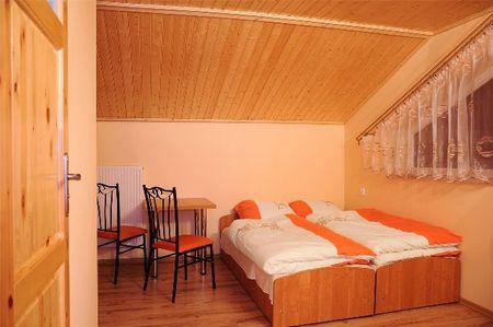 Pokoje Gościnne - wnętrze pokoju (kliknięcie spowoduje powiększenie obrazu)