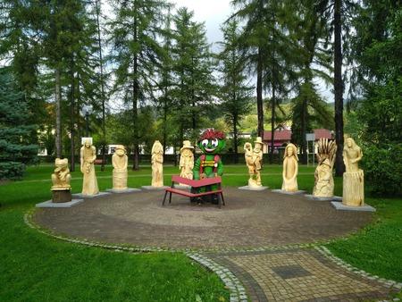 Wystawa poplenerowa w Parku Turystyki - foto 2 (kliknięcie spowoduje powiększenie obrazu)
