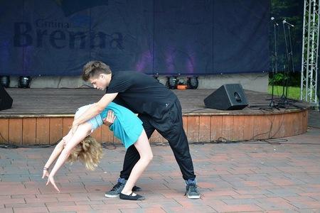 Piknik Pod Buczem - pokaz tańca  (kliknięcie spowoduje powiększenie obrazu)