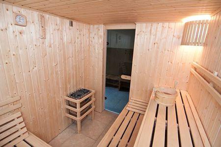 Pod Świerkami - sauna (kliknięcie spowoduje powiększenie obrazu)