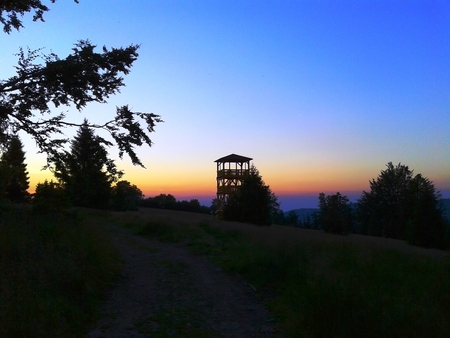Panorama z Hali Jaworowej (kliknięcie spowoduje powiększenie obrazu)