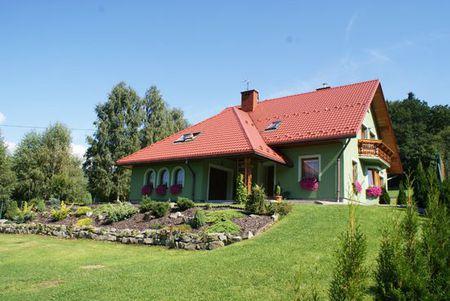 Zielony Domek - widok z zewnątrz (kliknięcie spowoduje powiększenie obrazu)