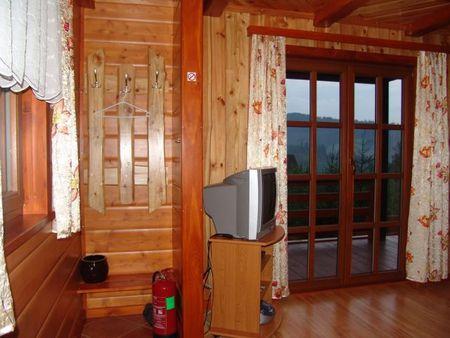 Domek Chata - salon (kliknięcie spowoduje powiększenie obrazu)