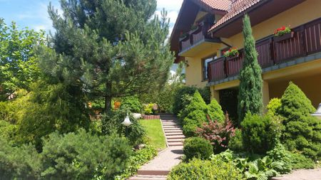 Pokoje gościnne Ryszard Słowiok - widok z zewnątrz (kliknięcie spowoduje powiększenie obrazu)