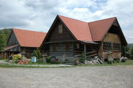 Chlebowa Chata - budynek (kliknięcie spowoduje powiększenie obrazu)