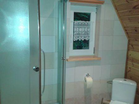 Domki u Danki - łazienka (kliknięcie spowoduje powiększenie obrazu)