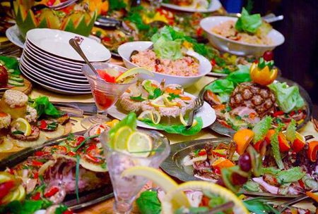 Dania serwowane w restauracji Malwa (kliknięcie spowoduje powiększenie obrazu)