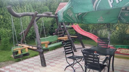 Pokoje gościnne Edward Sikora - ogród (kliknięcie spowoduje powiększenie obrazu)