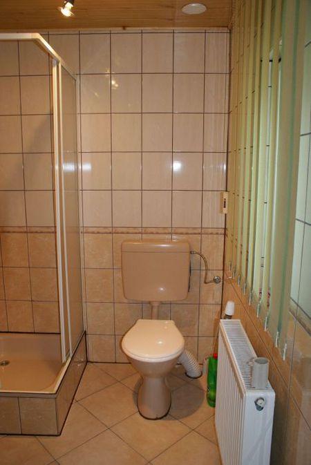 Agroturystyka U Madzi - łazienka (kliknięcie spowoduje powiększenie obrazu)