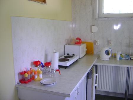Pokoje U Ewy - aneks kuchennny (kliknięcie spowoduje powiększenie obrazu)