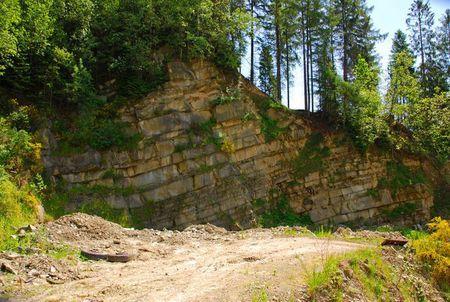 Kamieniołom Tokarzówka (kliknięcie spowoduje powiększenie obrazu)