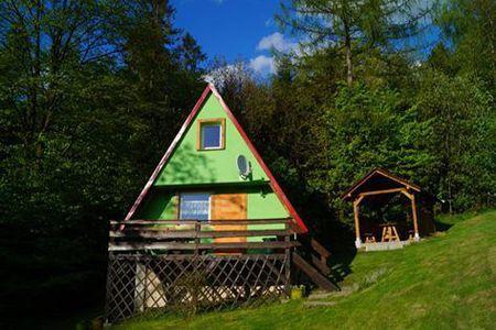 Domki U Danki - widok z zewnątrz (kliknięcie spowoduje powiększenie obrazu)