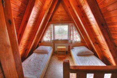 Pokoje w ośrodku Pod Starym Groniem (kliknięcie spowoduje powiększenie obrazu)