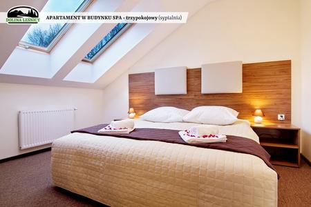 Apartament w budynku SPA trzypokojowy - sypialnia (kliknięcie spowoduje powiększenie obrazu)