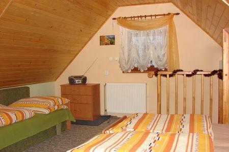 Domek - wnętrze pokoju (kliknięcie spowoduje powiększenie obrazu)