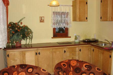 Domek - kuchnia (kliknięcie spowoduje powiększenie obrazu)