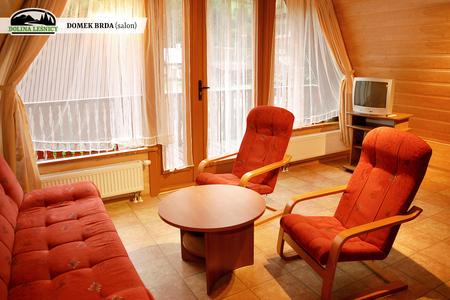 Domek BRDA - salon (kliknięcie spowoduje powiększenie obrazu)