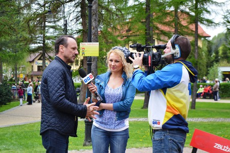 Śląska Majówka  - wywiad dla TVS  (kliknięcie spowoduje powiększenie obrazu)