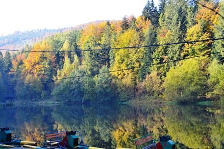 Bajkowy Szlak Utopca - przystań wodna  (kliknięcie spowoduje powiększenie obrazu)