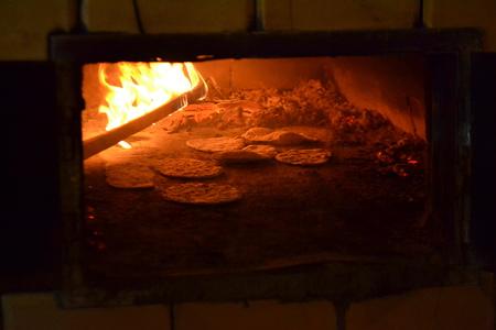 Chlebowa Chata - piec chlebowy (kliknięcie spowoduje powiększenie obrazu)
