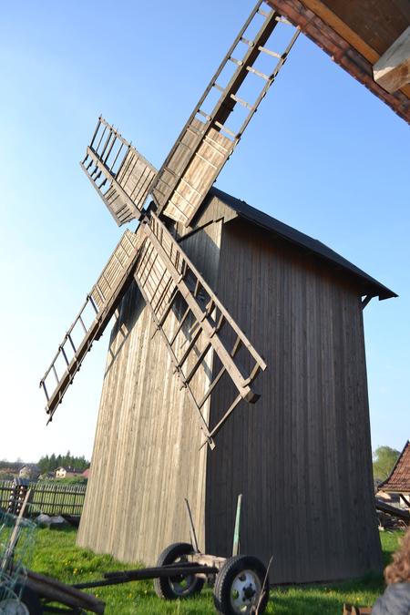 Chlebowa Chata - wiatrak (kliknięcie spowoduje powiększenie obrazu)