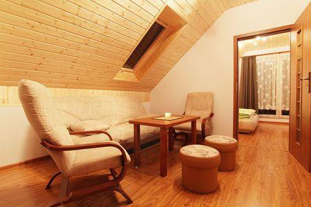 Zielony Domek - salon (kliknięcie spowoduje powiększenie obrazu)