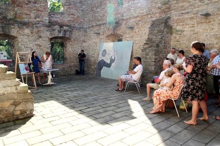 Artystyczne lato u Kossaków - wystawa prac  (kliknięcie spowoduje powiększenie obrazu)