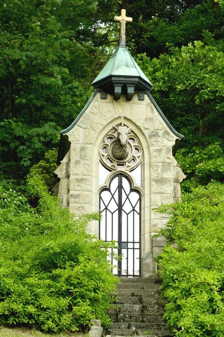 Kapliczka  Św. Huberta  (kliknięcie spowoduje powiększenie obrazu)