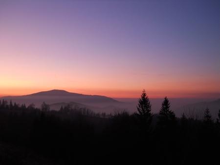 Panorama z okolic Telesforówki (kliknięcie spowoduje powiększenie obrazu)