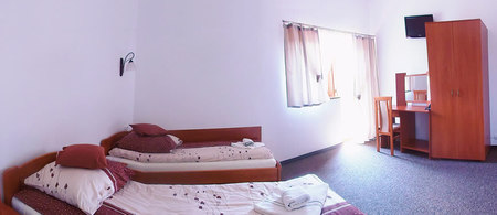 Pokoje w Krokusie (kliknięcie spowoduje powiększenie obrazu)