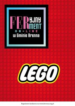 plakat konkursu lego