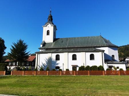 Kościół pw. św. Jana Chrzciciela w Brennej (kliknięcie spowoduje powiększenie obrazu)