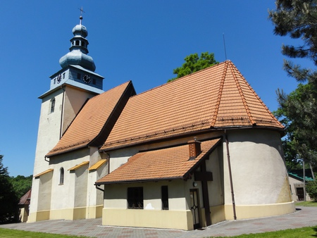 Kościół pw. Wszystkich Świętych w Górkach Wielkich - budynek (kliknięcie spowoduje powiększenie obrazu)
