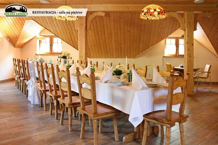 Restauracja - sala na piętrze (kliknięcie spowoduje powiększenie obrazu)