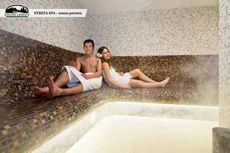 Strefa SPA - sauna parowa (kliknięcie spowoduje powiększenie obrazu)