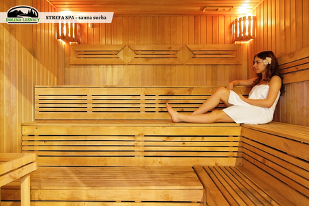 Strefa SPA - sauna sucha (kliknięcie spowoduje powiększenie obrazu)