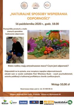 Zioła i owoce oraz Wiesława Rusin