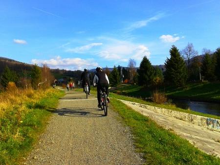 Szlak rowerowy Brenna Centrum - Górki Wielkie (kliknięcie spowoduje powiększenie obrazu)