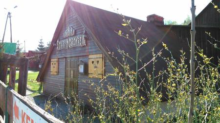 """Bar - Restauracja """"Pod Starym Groniem"""" - widok z zewnątrz (kliknięcie spowoduje powiększenie obrazu)"""